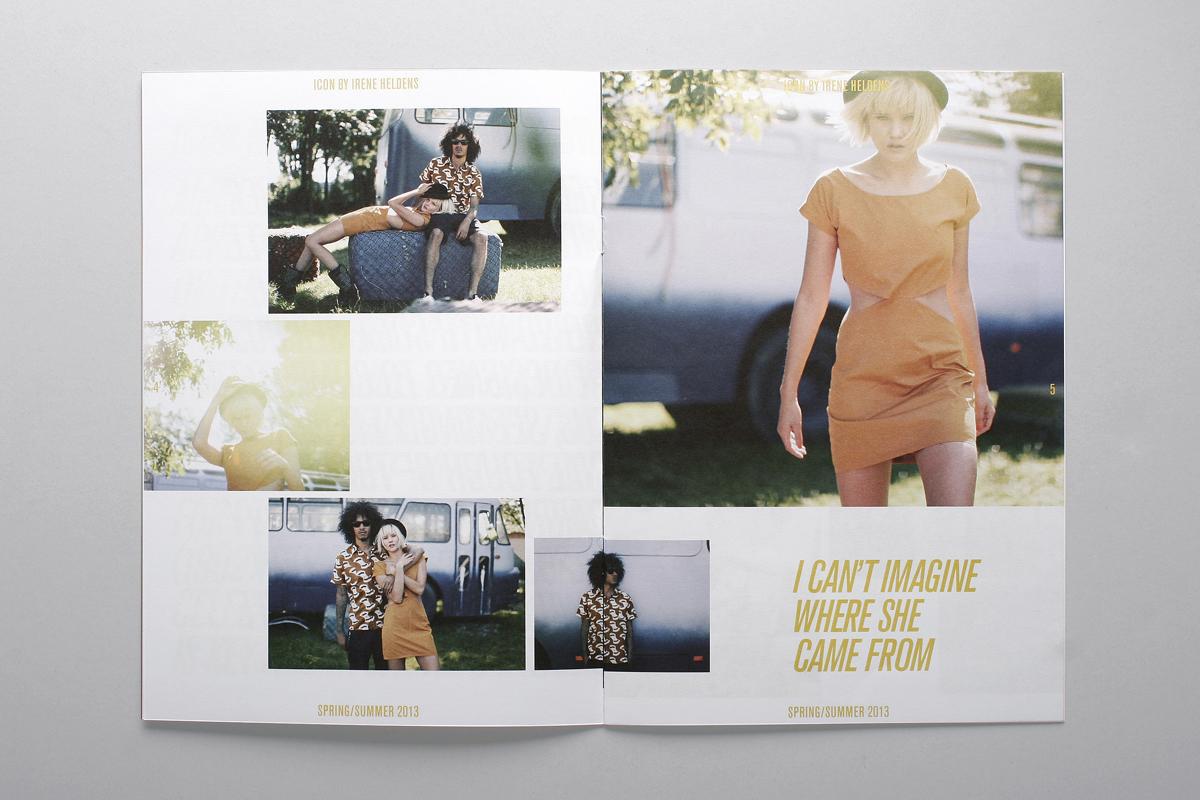 Irene Heldens Looksbook Spring/Summer 2013