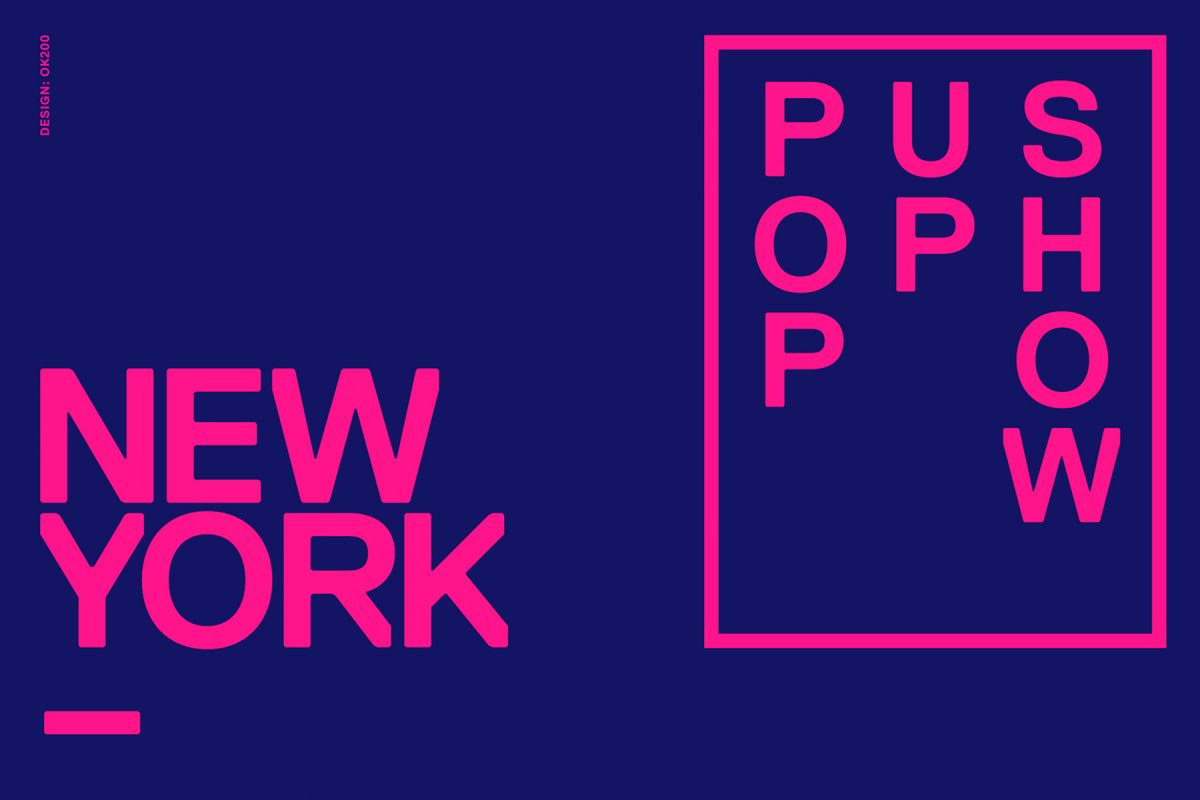 New York / Amsterdam — Pop Up Show