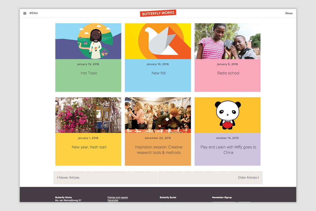 Butterfly Works — Website