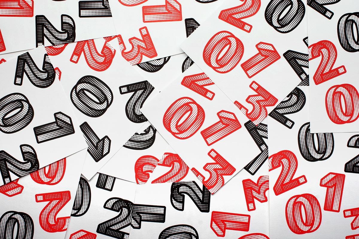 OK200 Promotional New Year's Silkscreen Poster