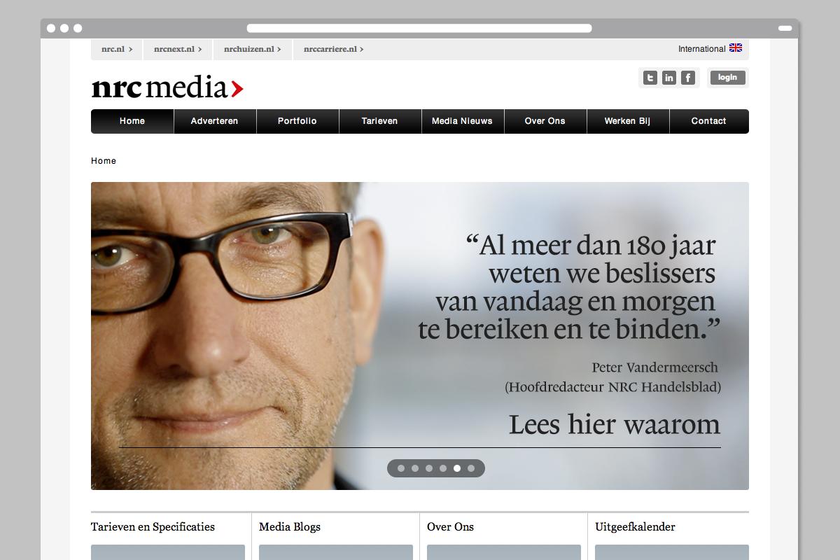 NRC Media — Website